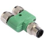 Phoenix Contact 5 Pole M12 Plug to 5 Pole M12 Socket Adapter