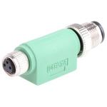 Phoenix Contact 3 Pole M12 Plug to 3 Pole M8 Socket Adapter