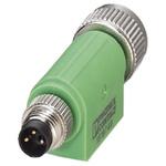 Phoenix Contact 3 Pole M8 Plug to 3 Pole M12 Socket Adapter