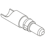 HARTING 09 03 , Straight , Male , Copper Alloy , DIN Connector Contact