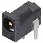 Wurth Elektronik, WR-DC Right Angle DC Socket Rated At 2.0A, 30.0 V, Panel Mount, length 5.0mm, Gold, Tin