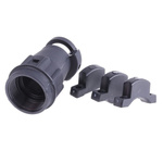 ITT Cannon, TNASize 14 Straight Backshell With Strain Relief, For Use With Neptune Circular Connector, TNM Circular