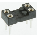 Preci-Dip 2.54mm Pitch Vertical 4 Way, Through Hole Turned Pin Open Frame IC Dip Socket, 1A