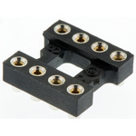 Aries Electronics 2.54mm Pitch Vertical 8 Way, SMT Open Frame IC Dip Socket, 3A