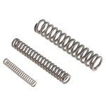 RS PRO Stainless Steel Compression Spring Kit, 180 Springs