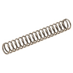 RS PRO Stainless Steel Compression Spring, 20.6mm x 2.82mm, 0.32N/mm