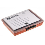 RS PRO 2140 Piece Steel Hex Full Nuts Box