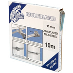 Jubilee 1 Piece Mild Steel Worm Drive Hose Clip Banding