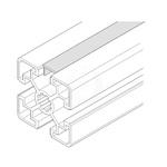 Bosch Rexroth Cover Strip, PVC, 8mm Slot, Light Grey x 2m