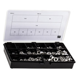 RS PRO 1020 Piece Stainless Steel Hex Full Nuts Box
