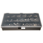 RS PRO 1710 Piece Stainless Steel Hex Full Nuts Box