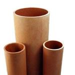 RS PRO Brown Round Paper Laminated Plastic, 1.2m x 15.8mm OD x 9.5mm ID x 15.8mm x 6.3mm