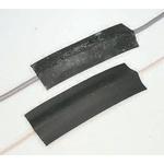 Vulcascot Cable Cover, 14 x 8mm (Inside dia.), 68 mm x 9m, Black