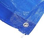 RS PRO Blue PE Tarpaulin 10m x 6m