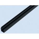 Bosch Rexroth Panel Strip, PP, 10mm Slot, Black, 2pcs x 1m