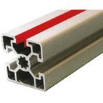 Bosch Rexroth Cover Strip, PVC, 10mm Slot, Red, 10pcs x 2m