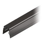 RS PRO Cover Strip, PP, 8mm Slot, Black, 10pcs x 2m