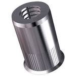 8.7mm Plain Stainless Steel Blind Rivet, 6mm Diameter, 0.7 → 1.5 mm Thickness