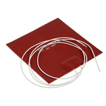 RS PRO Silicone Heater Mat, 10 W, 100 x 100mm, 12 V dc