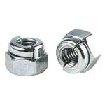 Aerotight, M6, Bright Zinc Plated Steel Aerotight Lock Nut