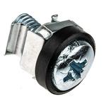 RS PRO Nylon 50 Piece Cross Drive Screw/Bolt, Nut & Washer Kit