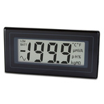 Lascar Digital Voltmeter DC, LCD Display 3.5-Digits ±0.1 %, 36 x 72 mm