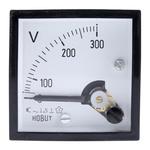 HOBUT AC Analogue Voltmeter, 300V, 45 x 45 mm,