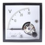 HOBUT DC Analogue Voltmeter, 30V, 45 x 45 mm,