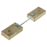 HOBUT Brass-Ended Shunt, 10 A, 60mV Output, ±1 % Accuracy