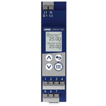 Jumo eTRON T100 On/Off Temperature Controller, 90mm 5 Input, 2 Output Analogue Relay, 230 V Supply Voltage