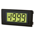 Lascar Digital Voltmeter DC, LCD Display 3.5-Digits ±1 %, 45 x 22.2 mm