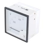 GILGEN Muller & Weigert DC Analogue Voltmeter, 500V, 92 x 92 mm, Class 1.5 Accuracy