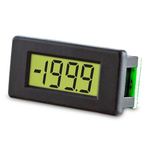 Lascar Digital Voltmeter DC, LCD Display 3.5-Digits ±1 %, 28.4 x 11.4 mm