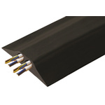 Vulcascot Cable Cover, 23mm (Inside dia.), 156 mm x 4.5m, Black, 2 Channels
