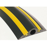 Vulcascot Cable Cover, 30mm (Inside dia.), 180 mm x 4.5m, Black/Yellow