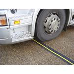 Vulcascot Cable Cover, 56 x 27mm (Inside dia.), 248 mm x 1.5m, Black/Yellow