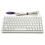 Cherry Keyboard Wired PS/2, USB Compact, QWERTY (UK) White