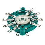 NSF, 3 Position 4P3T Rotary Switch, 150 mA @ 250 V ac, Solder