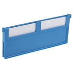RS PRO Front-to-Back Bin Divider for use with Size 2, Size 5, Dimensions80 x 188mm