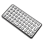 Storm Keyboard Wired PS/2 Compact, QWERTY (UK) Silver