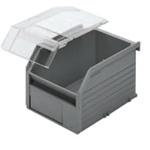 Bosch Rexroth Black Plastic Bin Lid for 50 x 123 Bin Bin, 117x13x173mm