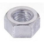 Yahata Neji Steel Hex Nut, Chrome Plated, M4