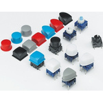 White Modular Switch Cap for use with 3F Series Right Angle Push Button Switch