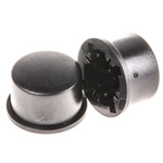 Black Modular Switch Cap for use with 3F Series Push Button Switch