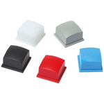 Grey Modular Switch Cap for use with 3F Series Right Angle Push Button Switch