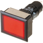 EAO, Push Button Switch, Red, PCB, IP65, 3 A @ 250 V ac