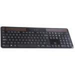 Logitech Keyboard Wireless, QWERTY (UK) Black