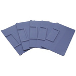RS PRO Front-to-Back Bin Divider Blue for use with 234 x 140 mm Shelf Bin