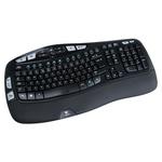 Logitech Keyboard Wireless USB, QWERTY (UK) Black