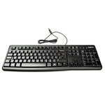 Logitech Keyboard Wired USB, QWERTY (UK) Black